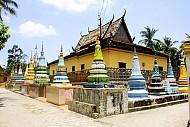 Độc đáo chùa Xà Tón (Xvay Ton) ở An Giang