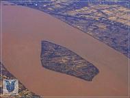 Toàn cảnh Sông Hàm Luông