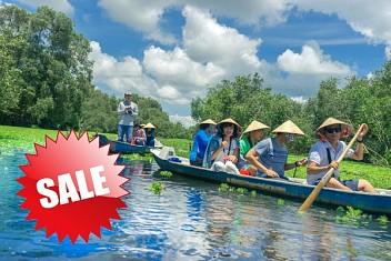 Hành trình sông nước khởi từ Hà Nội 4 Ngày khám phá Sài Gòn - Cần Thơ - Sóc Trăng - Cà Mau