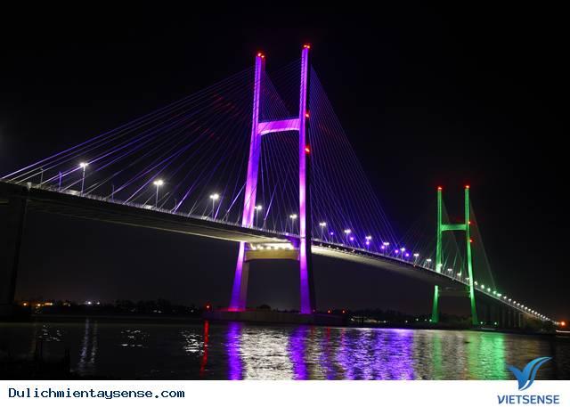Cầu Cao Lãnh – điểm sáng trong du lịch Đồng Tháp